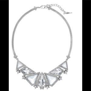 Glacial Edge Bib Necklace